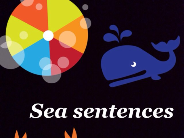Sea Sentences by Sarah Mangel-Mammucari