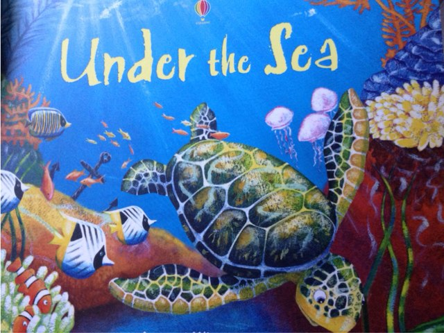 Sea life 2 by Laura Simpson