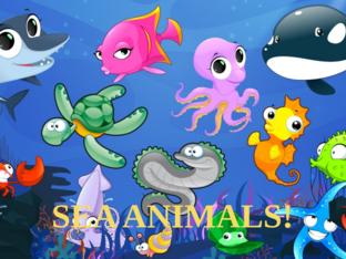 Sea animals! by Agustina Suarez