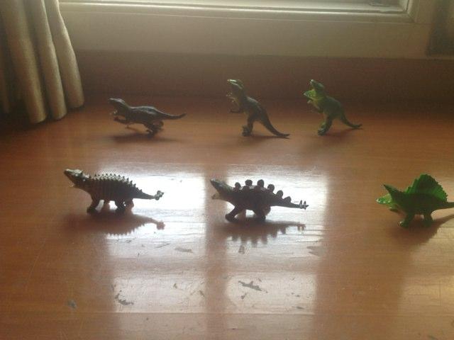 Search The Dinosaur by Anurag Simha