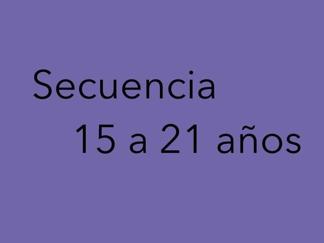 Secuencia 15-21 by Nicolle Rios