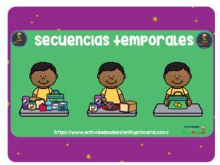 Secuencias temporales by Almendra Ponce