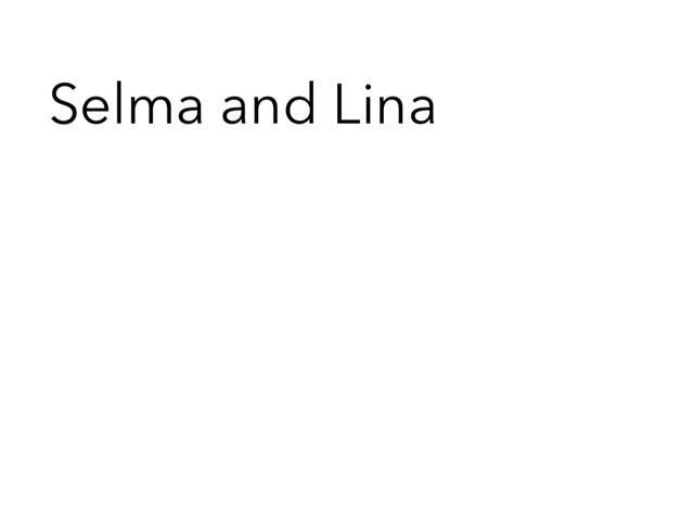 Selma P Lina S Bg 7/6 2015 by Edventure More -  Conrad Guevara