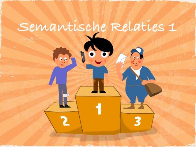 Semantische Relaties 1 by Logopedie Noord