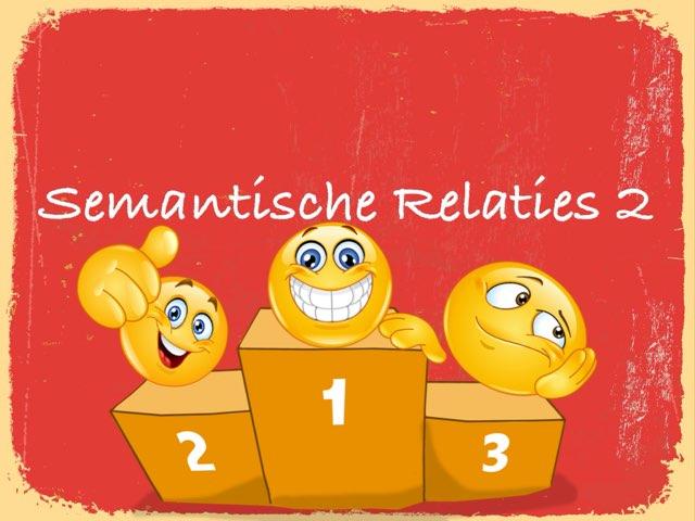 Semantische relaties 2 by Logopedie Noord
