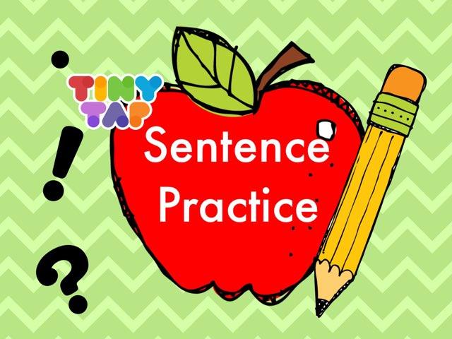 Sentence Practice by Jennifer
