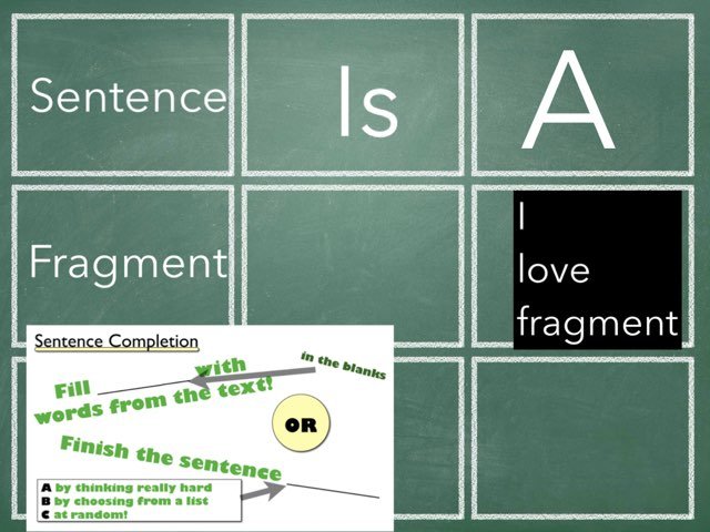 Sentences And Fragments  by Mrs.  Suanny