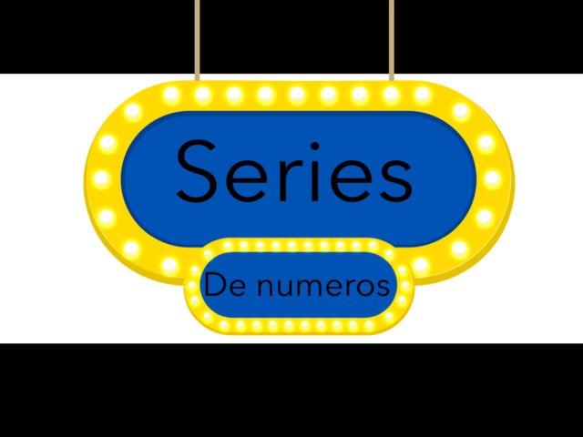 Series De Numeros by Joshua Ortiz Zuluaga