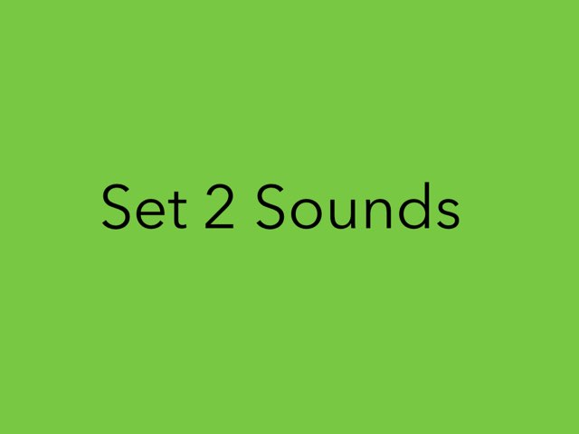 Set 2 Sounds by Heather Cooper