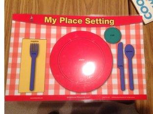 Set The Table  by Katherine kellogg