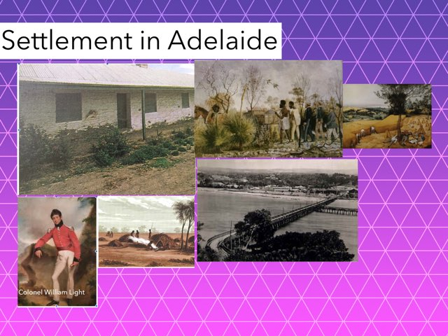 Settlement in Adelaide  by Tyren