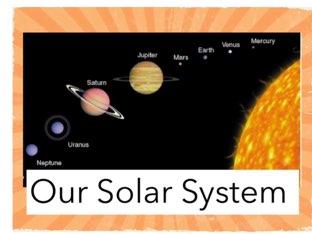 Shape Of Solar System by Sister gatling