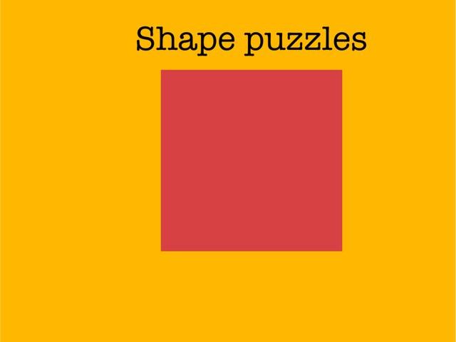 Shape Puzzles by Makenzie Mathews