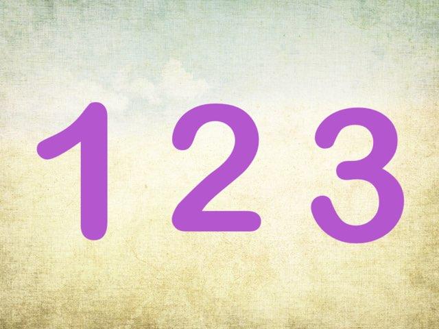 Siffrorna 123 by Christine Löthman
