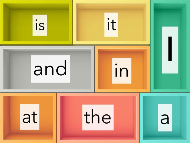 Sight Word Game Example by Gabrielle Nichol