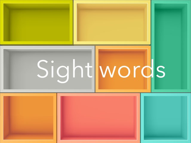 Sight Words 1 by Emily Whalen