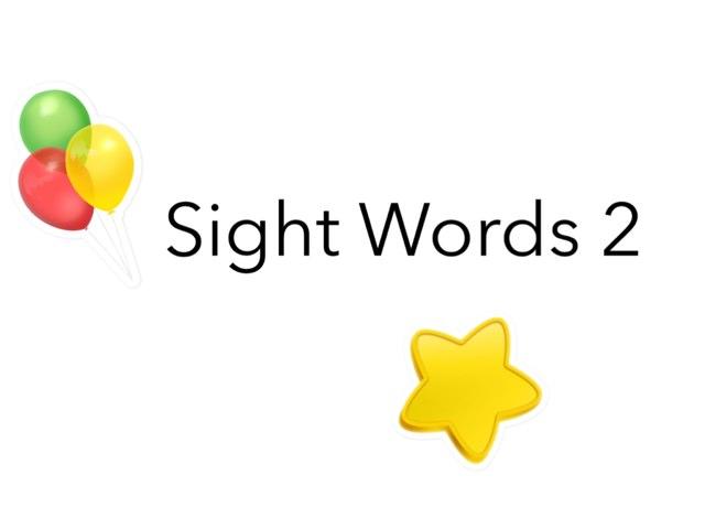 Sight Words 2 by Ta Ma