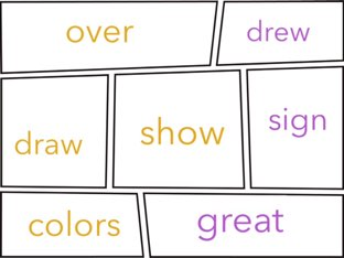 Sight Words 4 by Jacquie Conway