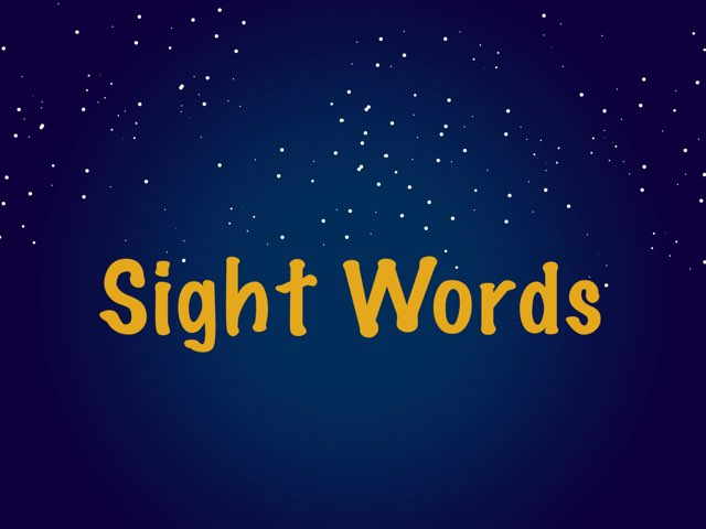 Sight Words: Directional Words, Colors, And More! by Bethany Petty