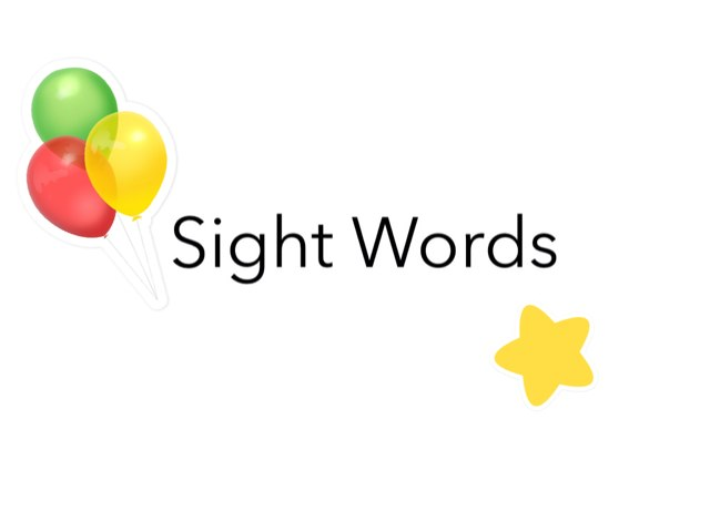 Sight Words Lesson 1-4 by Ta Ma