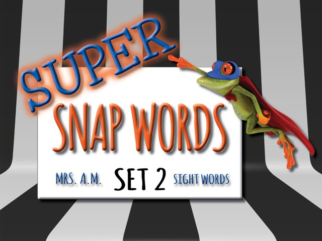 Sight Words: Group 2 by Jane Antholz