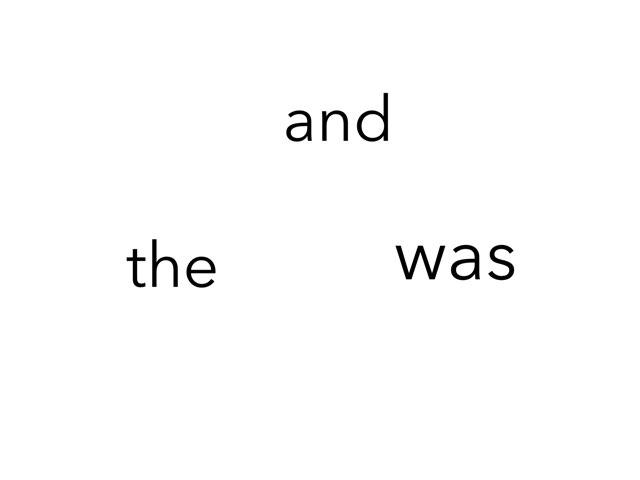 Sight Words by Kim Reghenzani