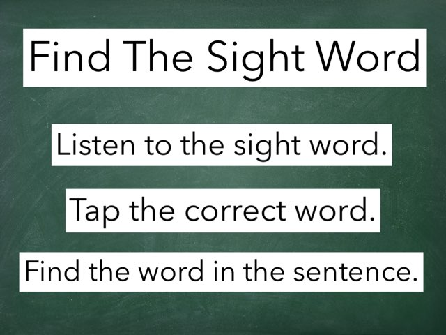 Sight Words by Anita Smith