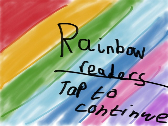 Sign Up for Rainbow Readers! by Jas Brian