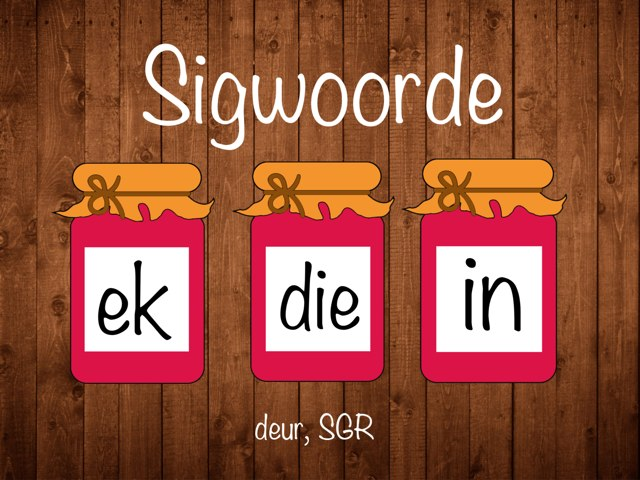 Sigwoorde, deel 1 by Susan Roelofsz