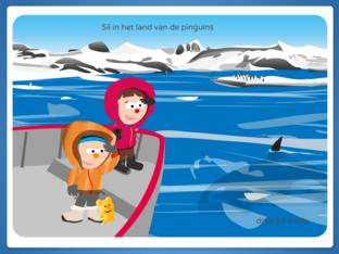 Sil in het land van de pinguïns by Trudy Fasseur