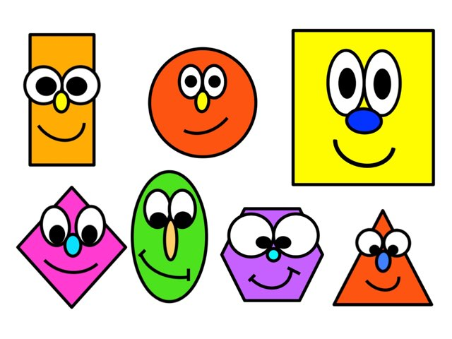 Silly Shapes 2D by Cathy Auker