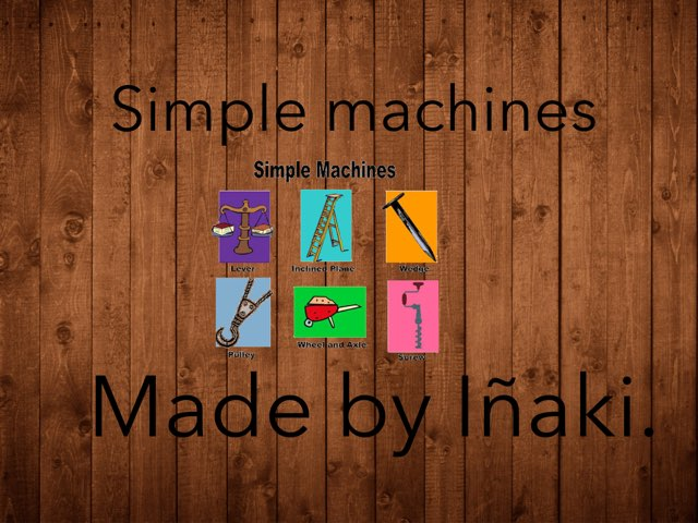 Simple Machine by Inaki Morquecho