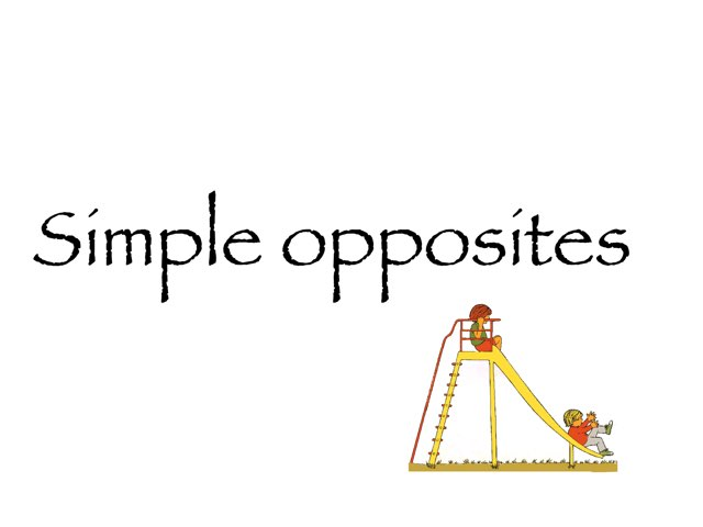 Simple Opposites 1 by Madonna Nilsen