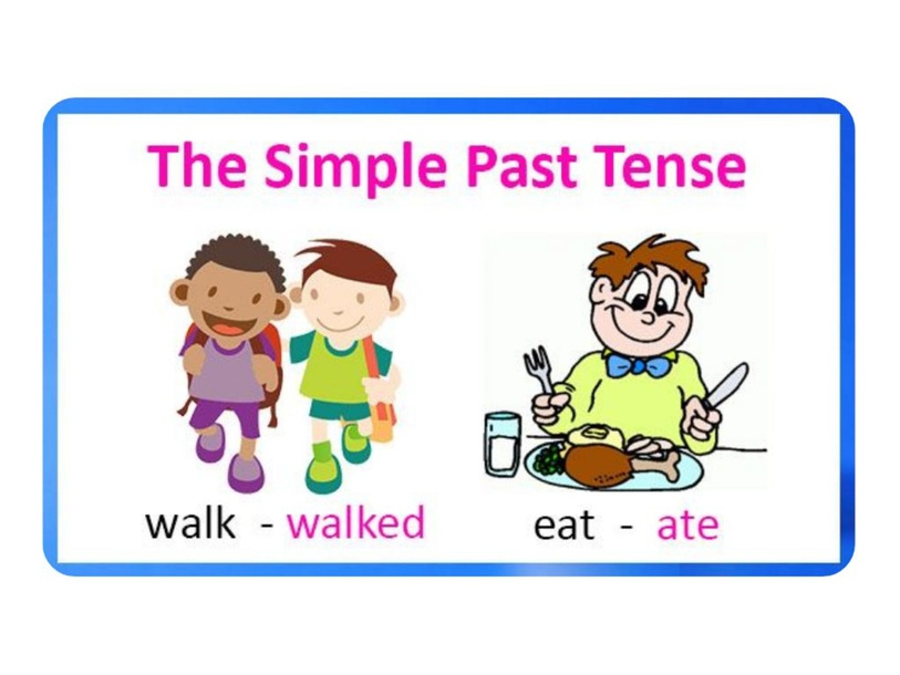 Simple Past Tense Verbs by christina.varelagraded.br