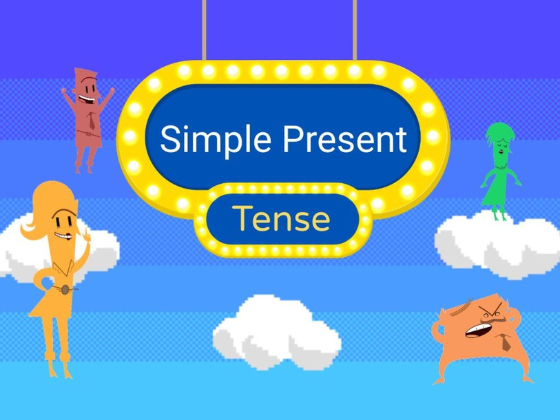 Simple present Tense by Donnah Rose Canonoy