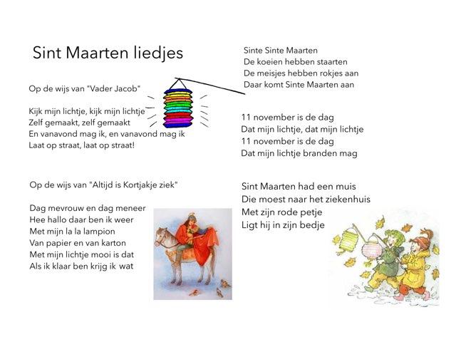 Sint Maarten liedjes by Miranda Dijkstra