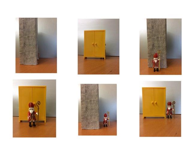 Sinterklaas Voorzetsels Voor Achter Naast by Marieke Vaessen