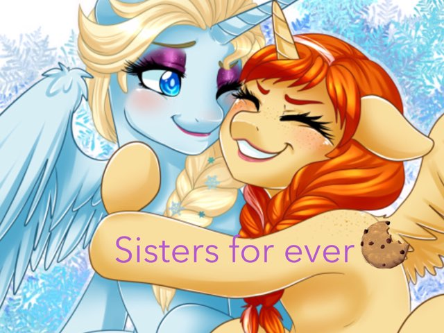 Sisters Frozen by Fire Warior