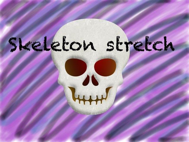 Skeleton Stretch Companion by Caley Work