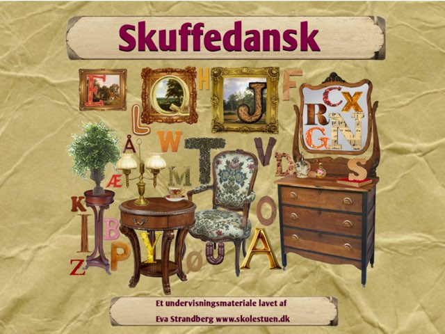 Skuffedansk by Eva Strandberg