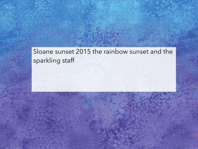Sloane Documentary by Edventure More -  Conrad Guevara