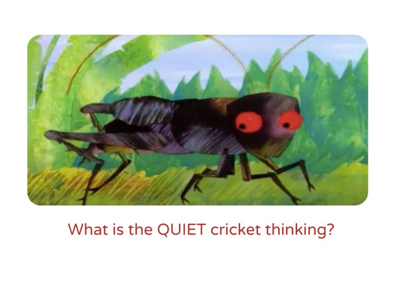 Smart Guesses THE VERY QUIET CRICKET by SLP NURAFINIHAMZAH