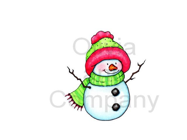 Snowman Puzzle by LeAnn Eshelman