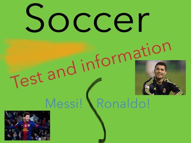 Soccer Testing by Ben