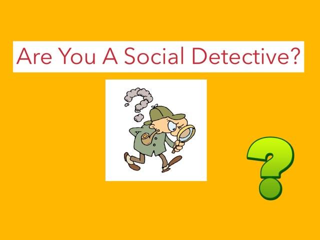 Social Detective  by Deborah Feeley