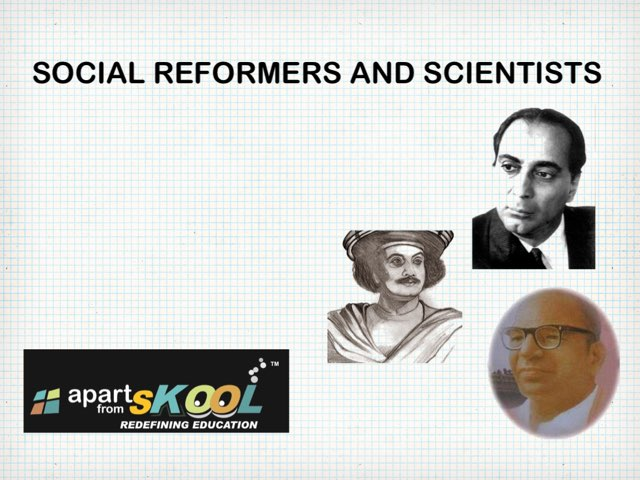 Social Reformers And Scientists by TinyTap creator