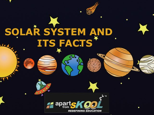 Solar System And Its Facts by TinyTap creator