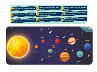 Solar System by Hilal Özdemir