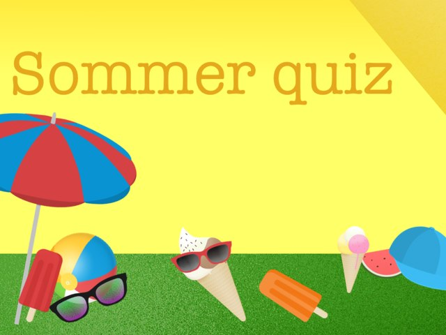 Sommer Quiz by Sofia Cardenas