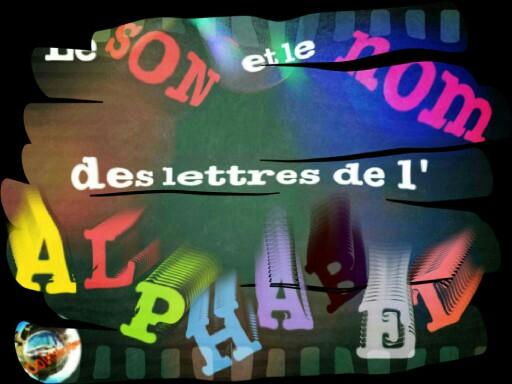 Son, nom des lettres de l'alphabet by Coolmater Yb